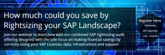 Rightsizing your SAP strategy